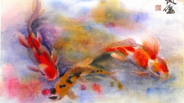 Watercolors on Rice-paper Classes - Santa Clarita