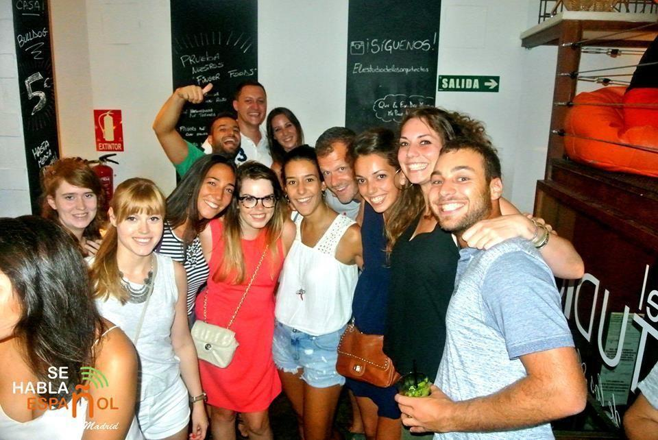 Language Exchange in Madrid Friday