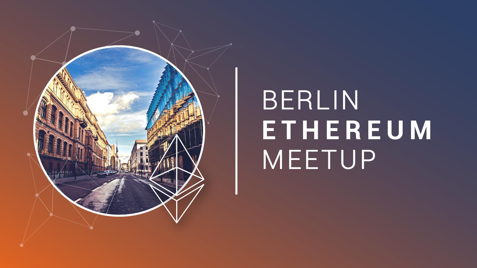 Blockchain Berlin Meetup