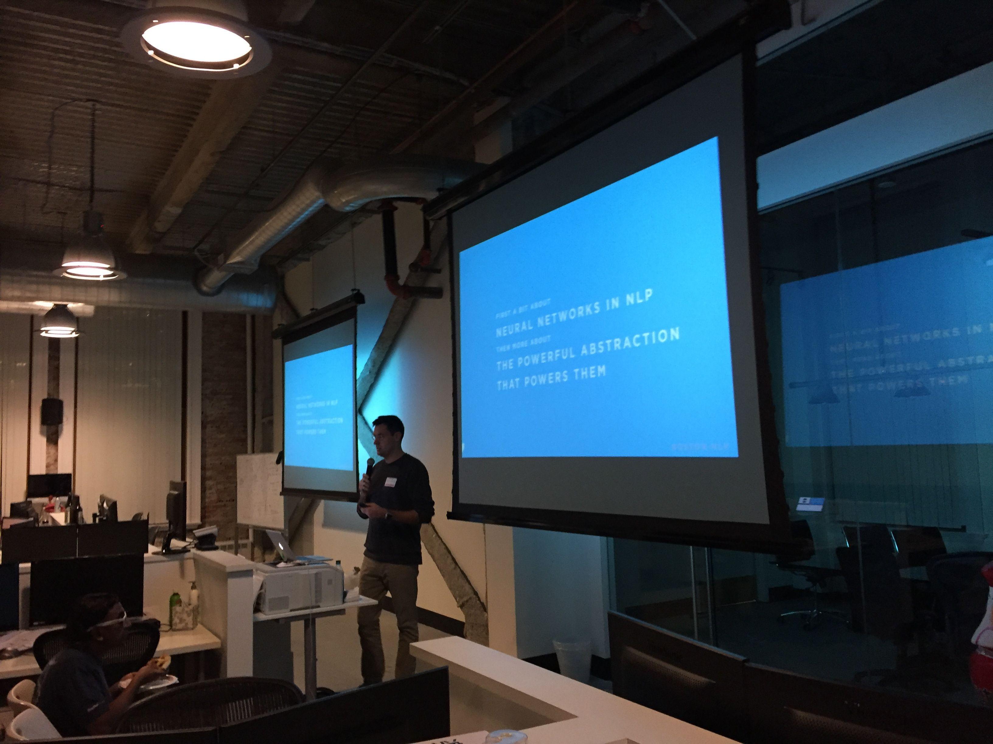 Boston Natural Language Processing Meetup