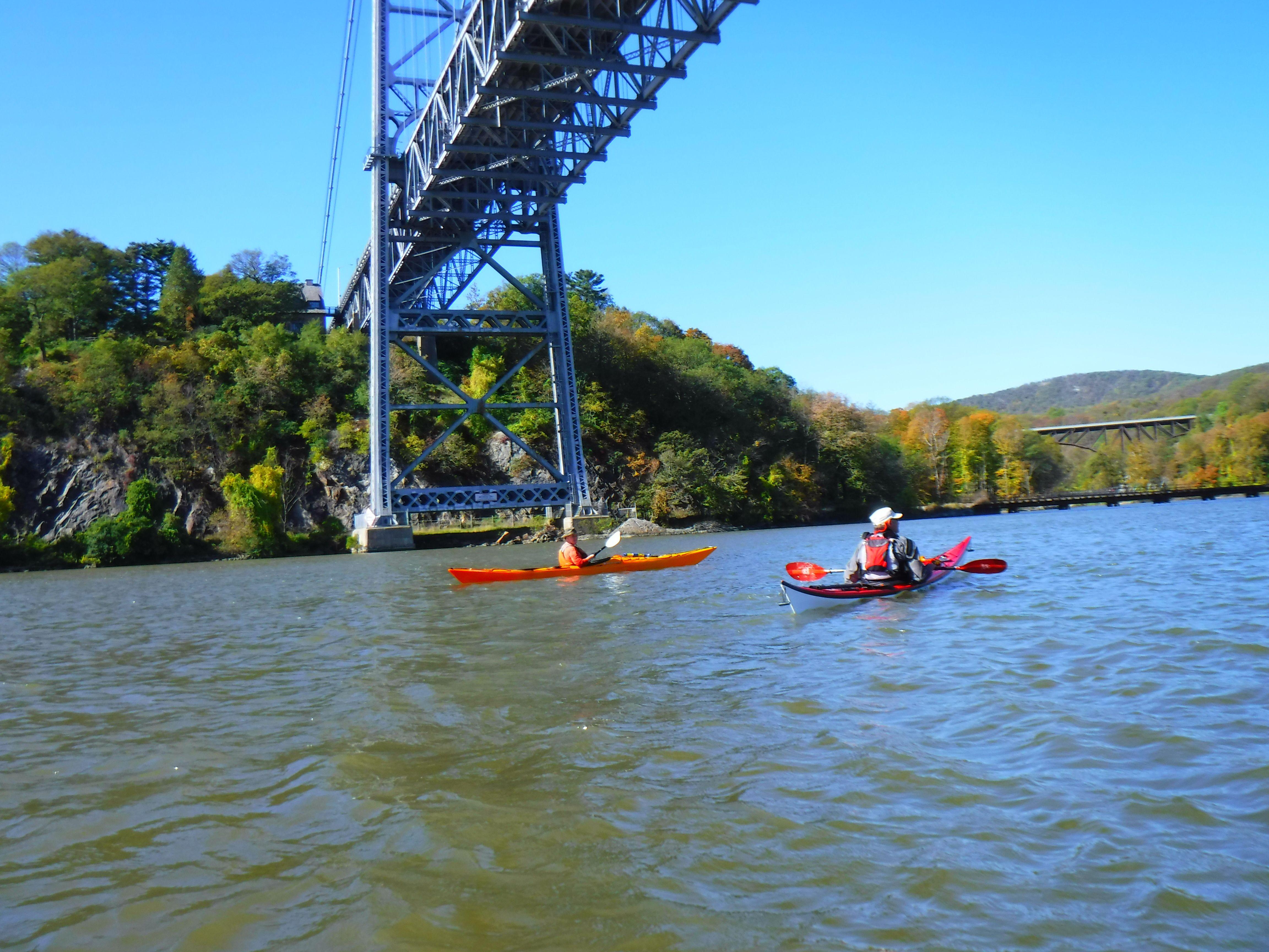 kayaking the liquid skies