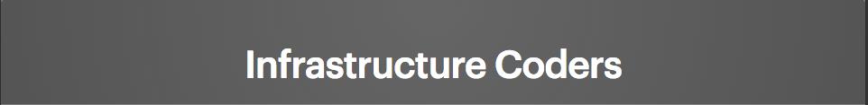 Infrastructure Coders
