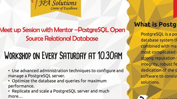 Chennai PostgreSQL Meetup Group (Chennai, India) | Meetup