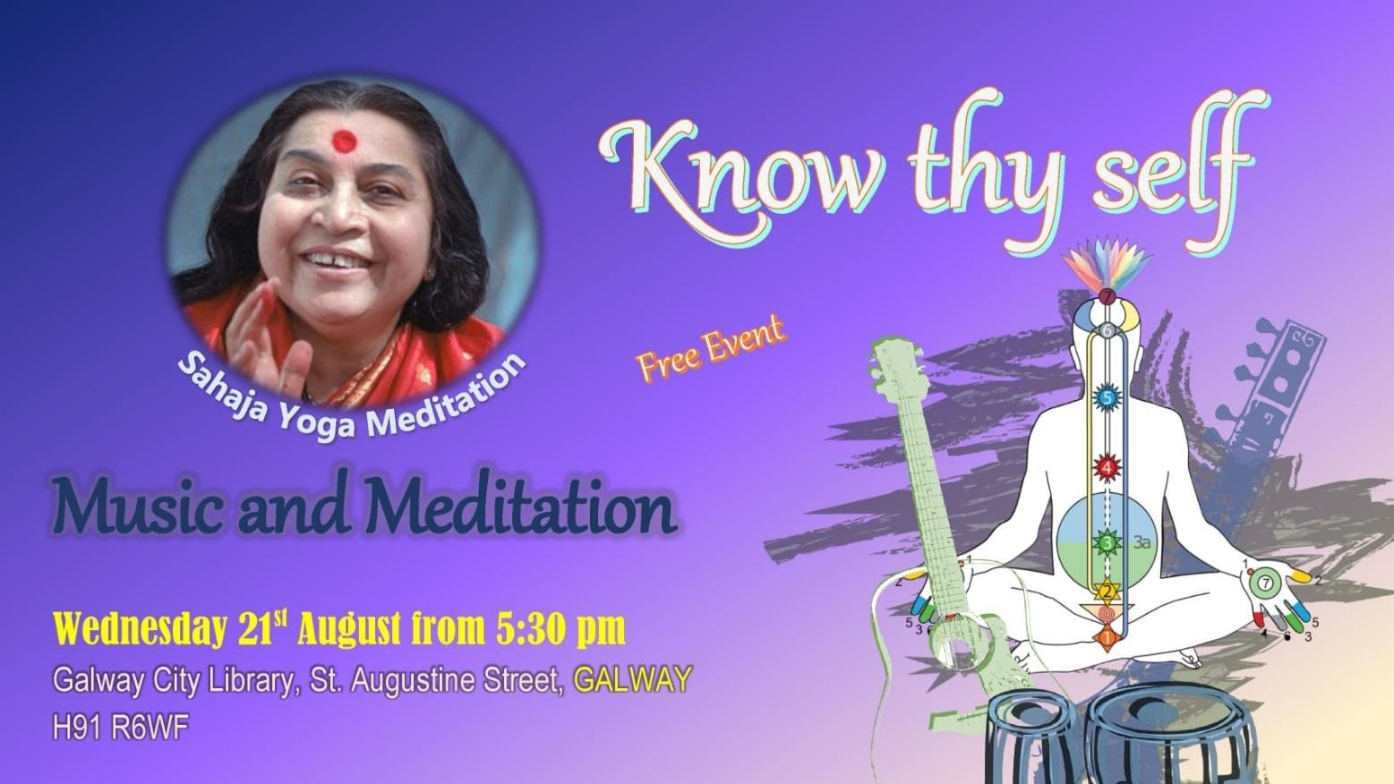 Free Yoga Meditation Galway