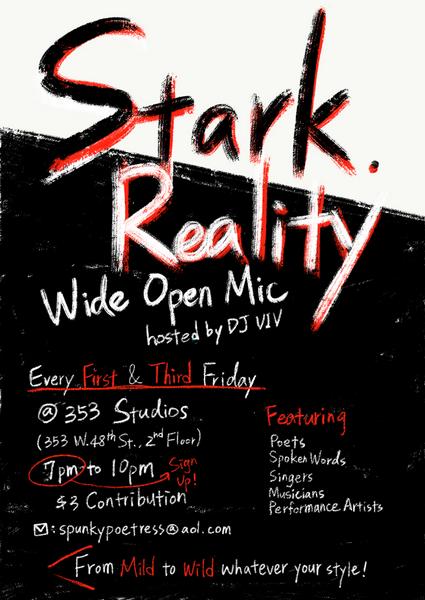 Friday 5 18 Stark Open Mic Poets Spokenword Musicians