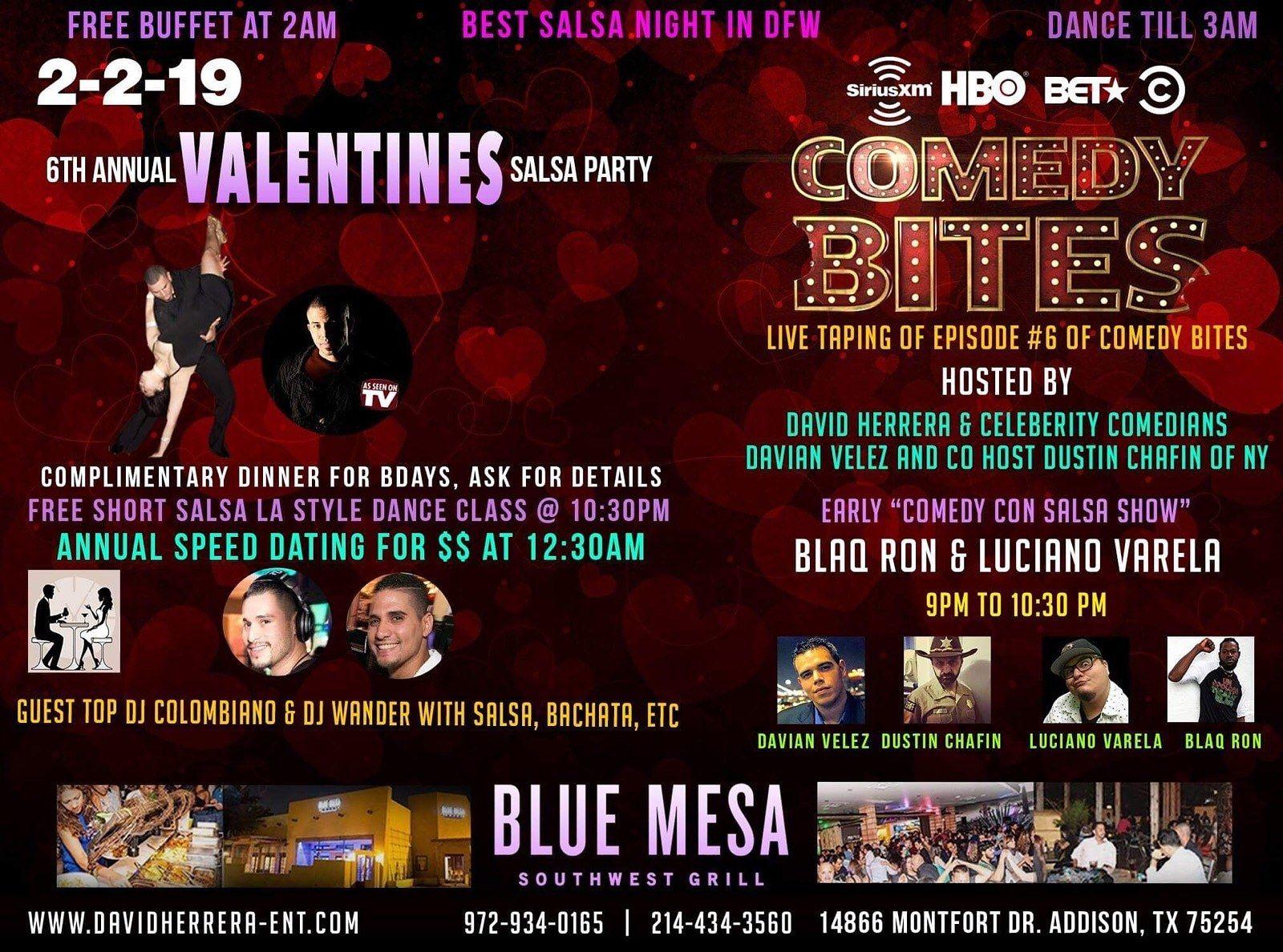 Blue mesa speed dating