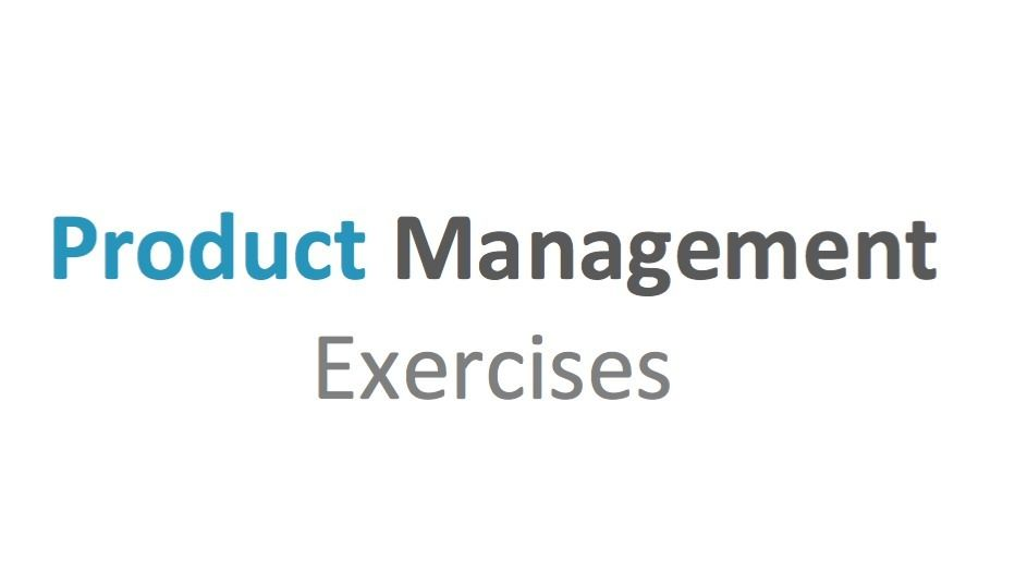 Product Management Exercises Meetup