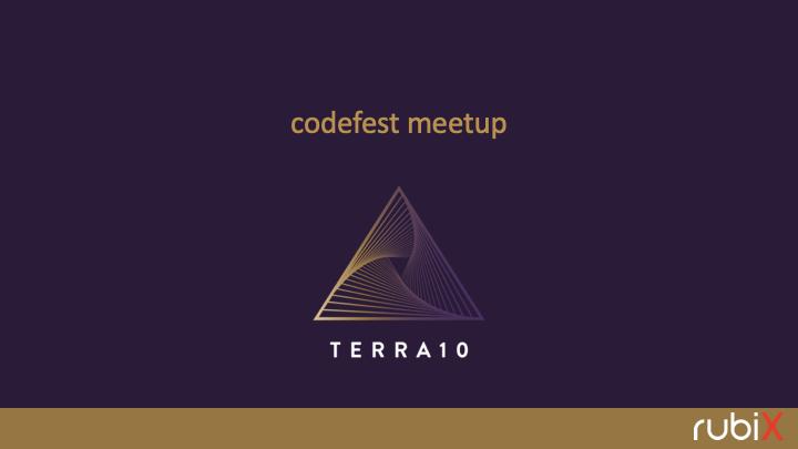 TERRA10 codefest