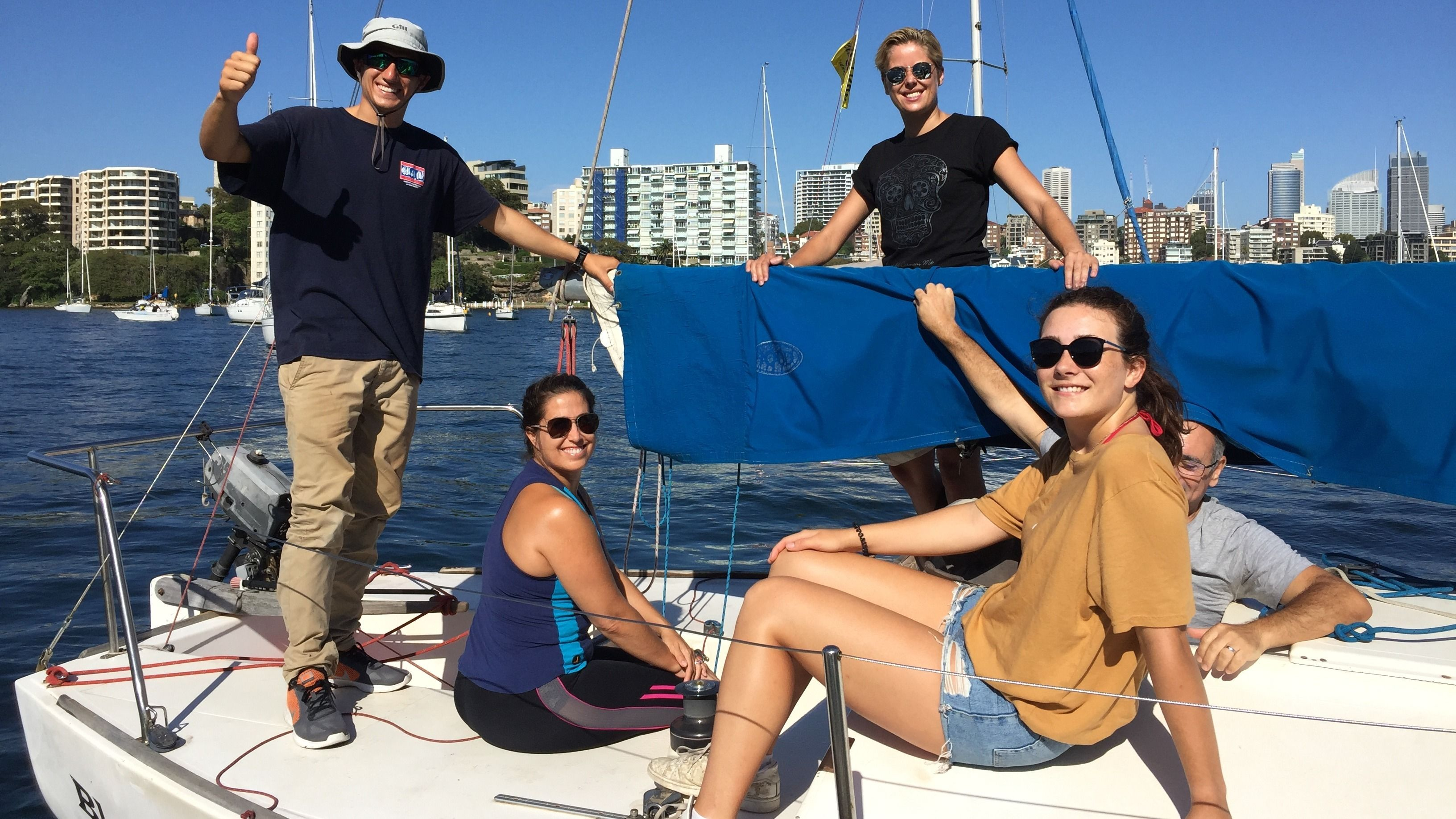 Discover Sailing on Sydney Harbour