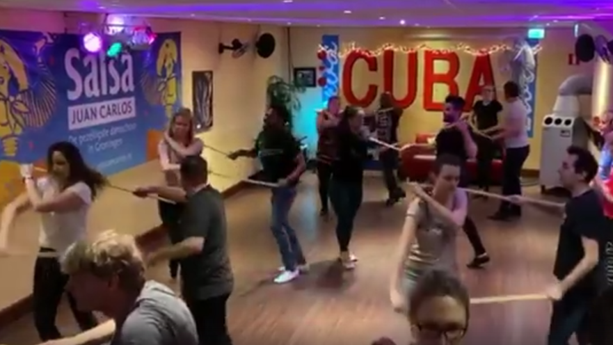 Salsa and Bachata classes outdoor