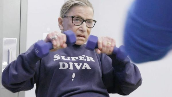 Remembering RBG: reflect, mourn, & express your fears & anxieties with friends.