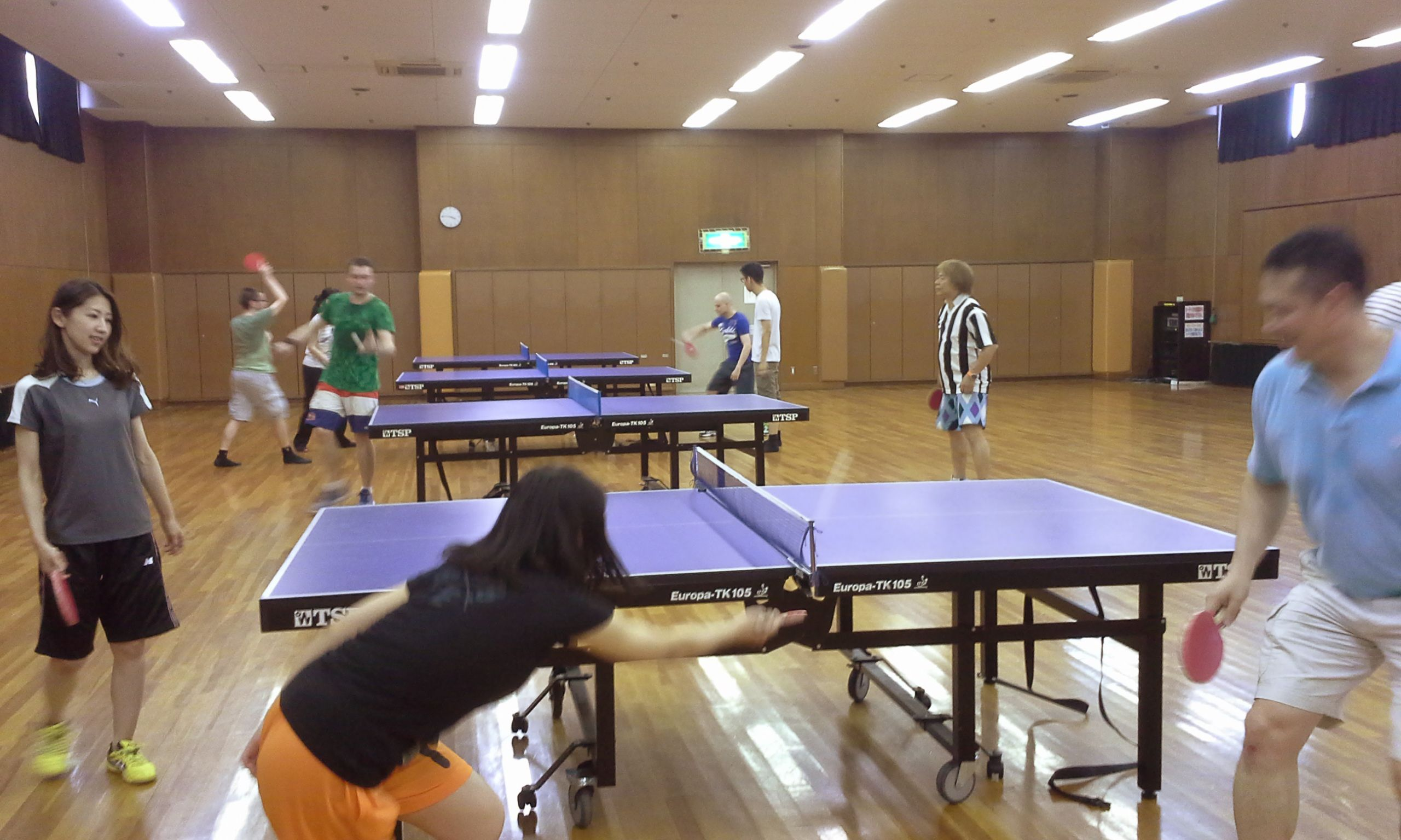 ???? 卓球 TABLE TENNIS: Ogimachi Pool (Tenma)