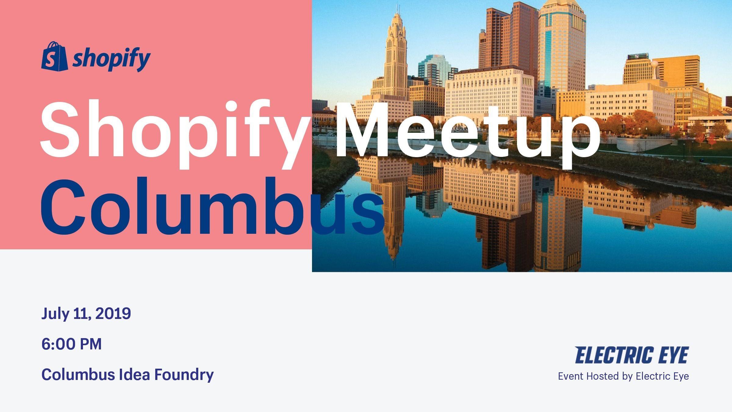 Shopify Meetup Columbus