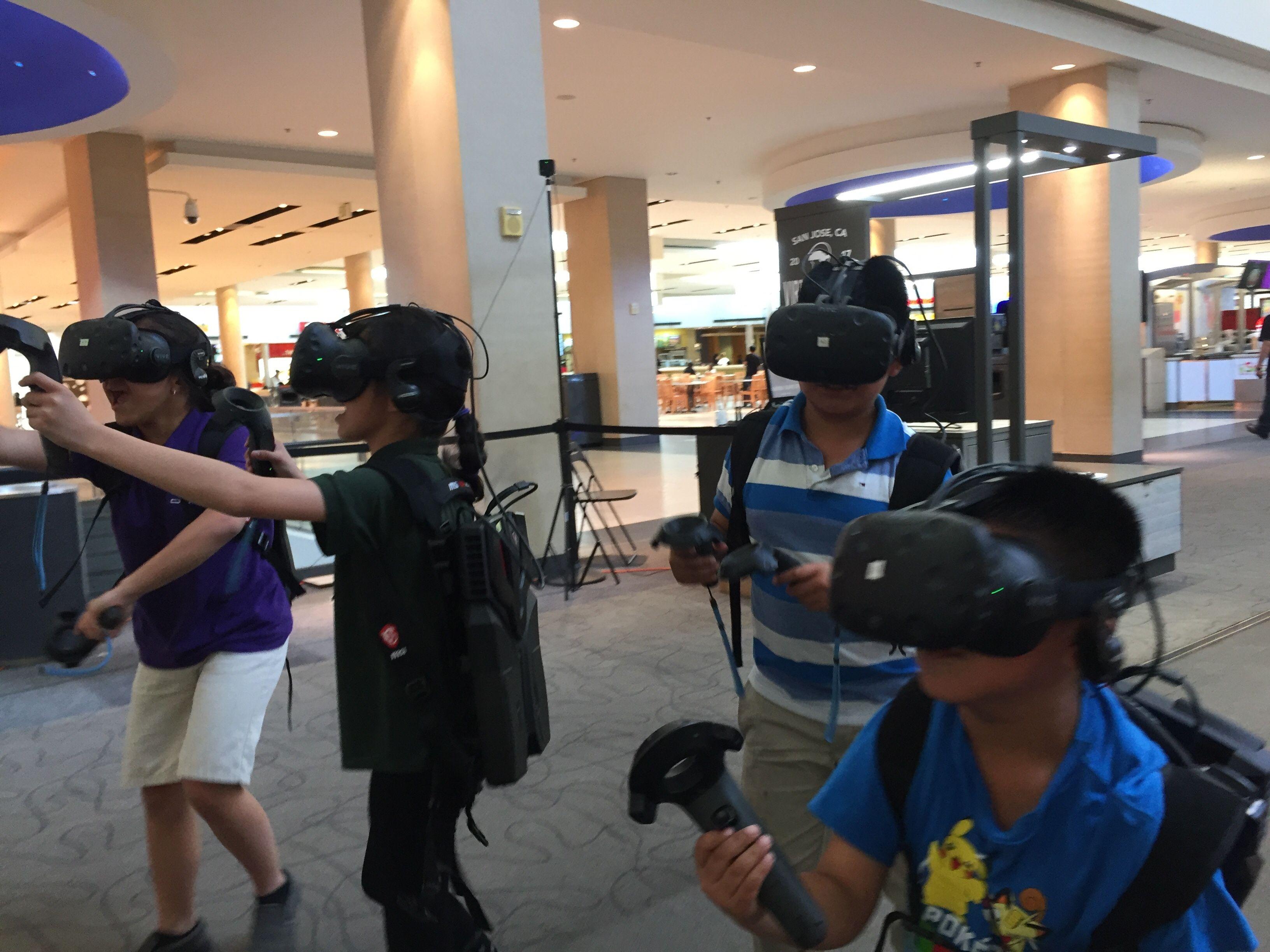 Virtual World Arcade