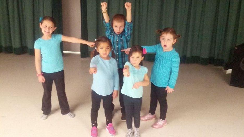 CHILDREN'S DANCE FUNK CLASS IS BACK!!!