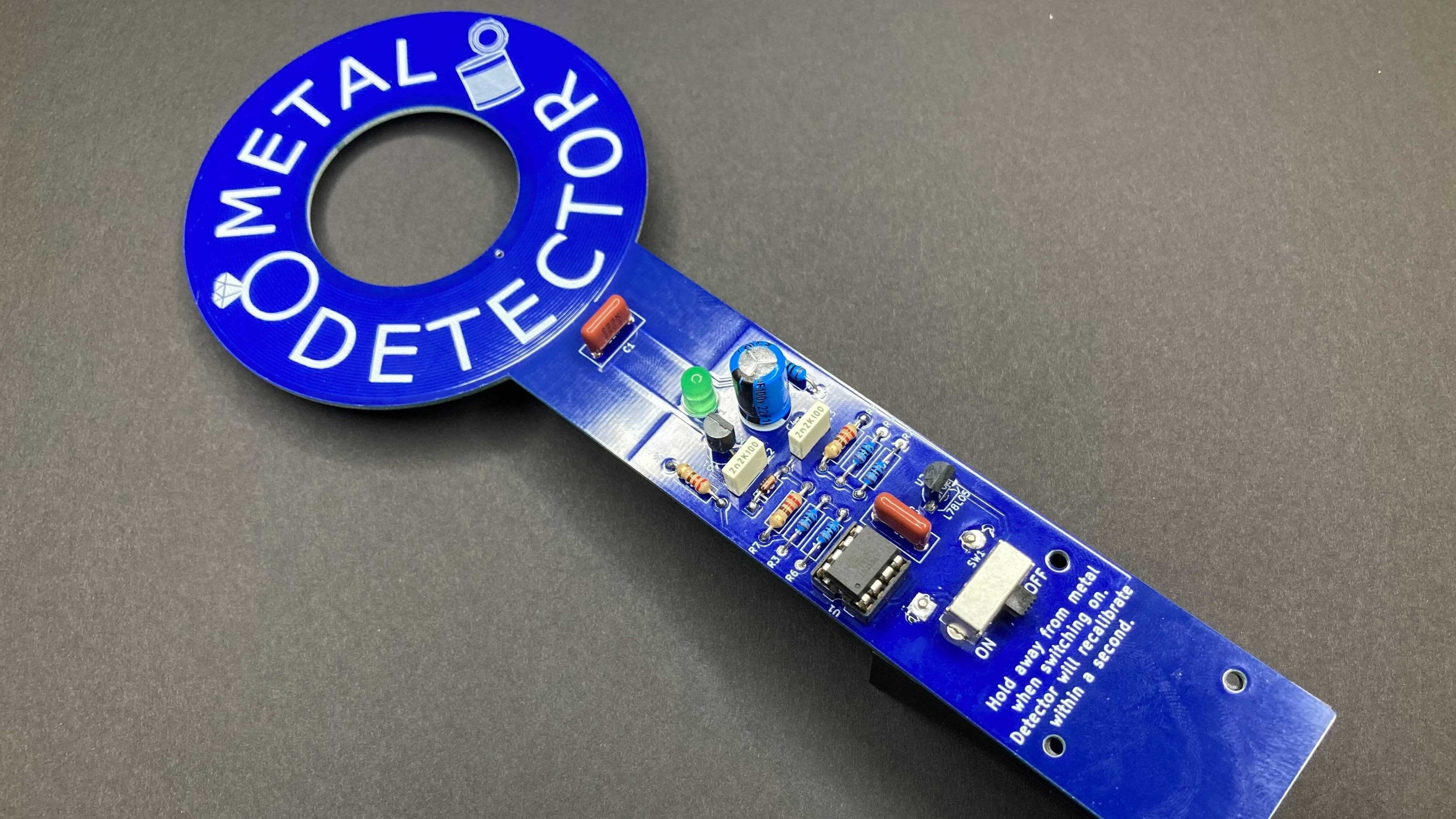 Learn to Solder Your Pocket Metal Detector