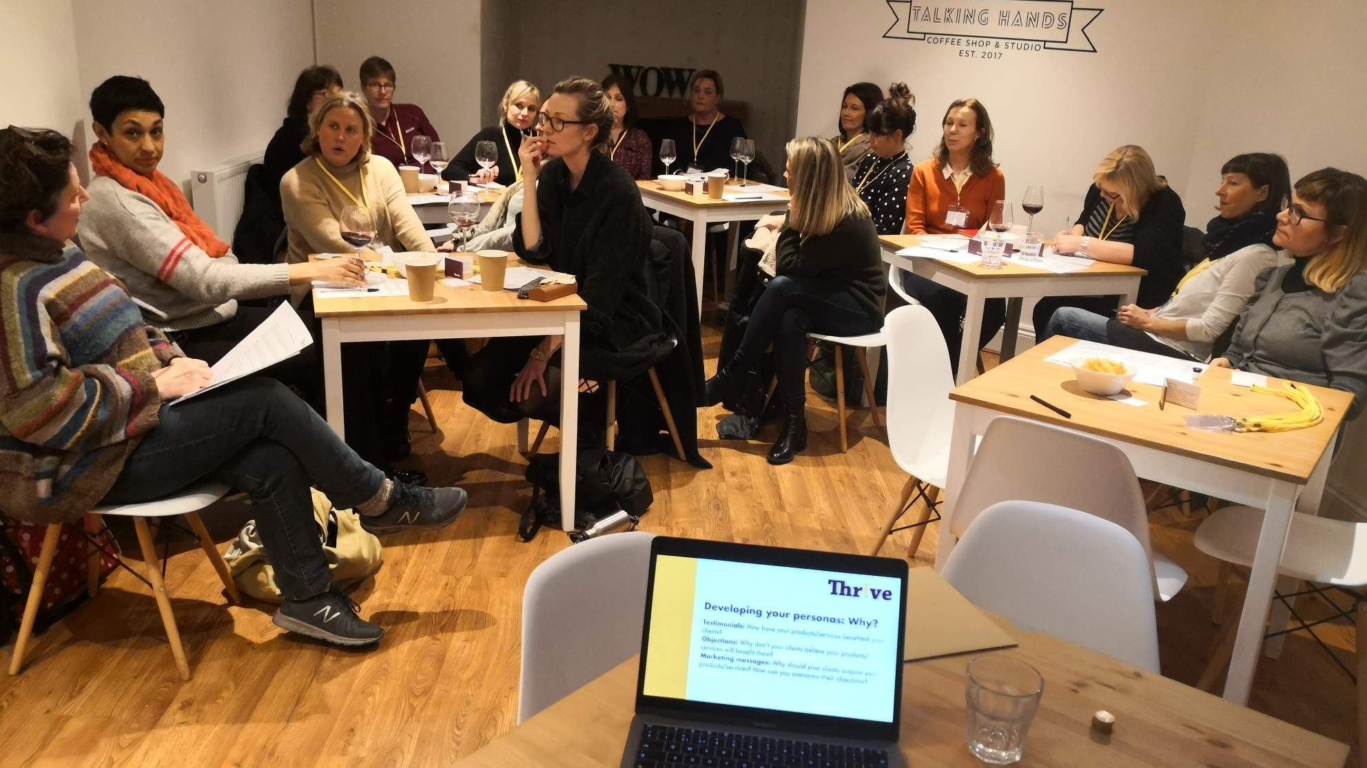 The Thrive Meetup for Female Founders and Women in Business