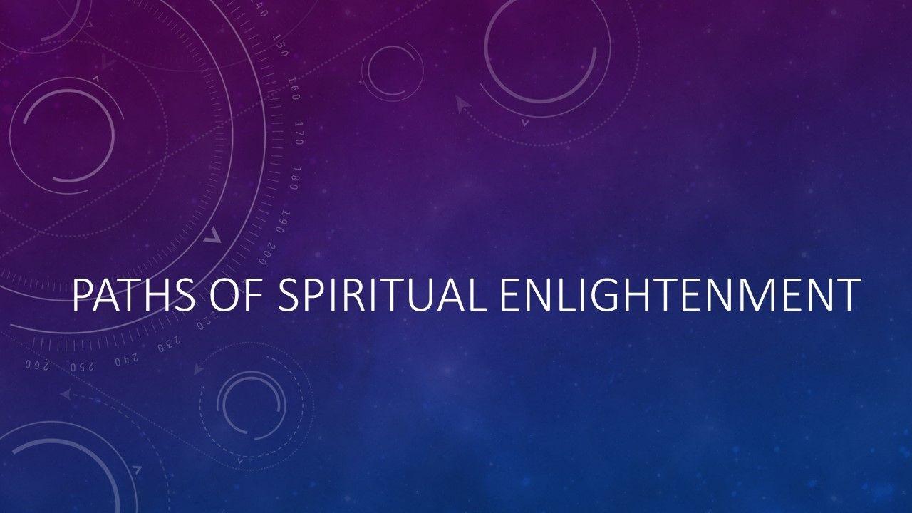 Spiritual Enlightenment Meetup
