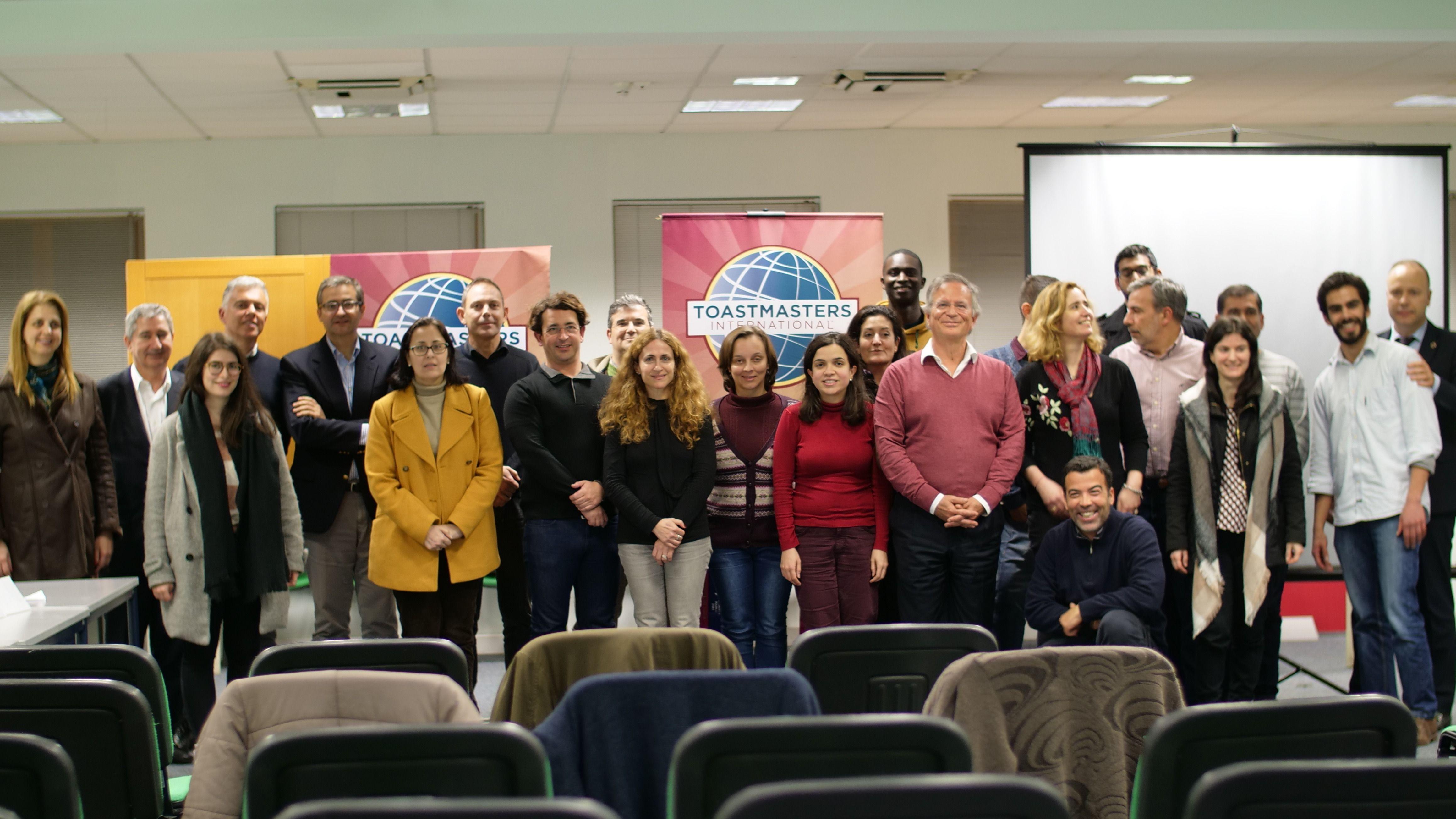 Sessão Toastmasters em Almada   Aprende a Falar em Público e Faz-te Líder]