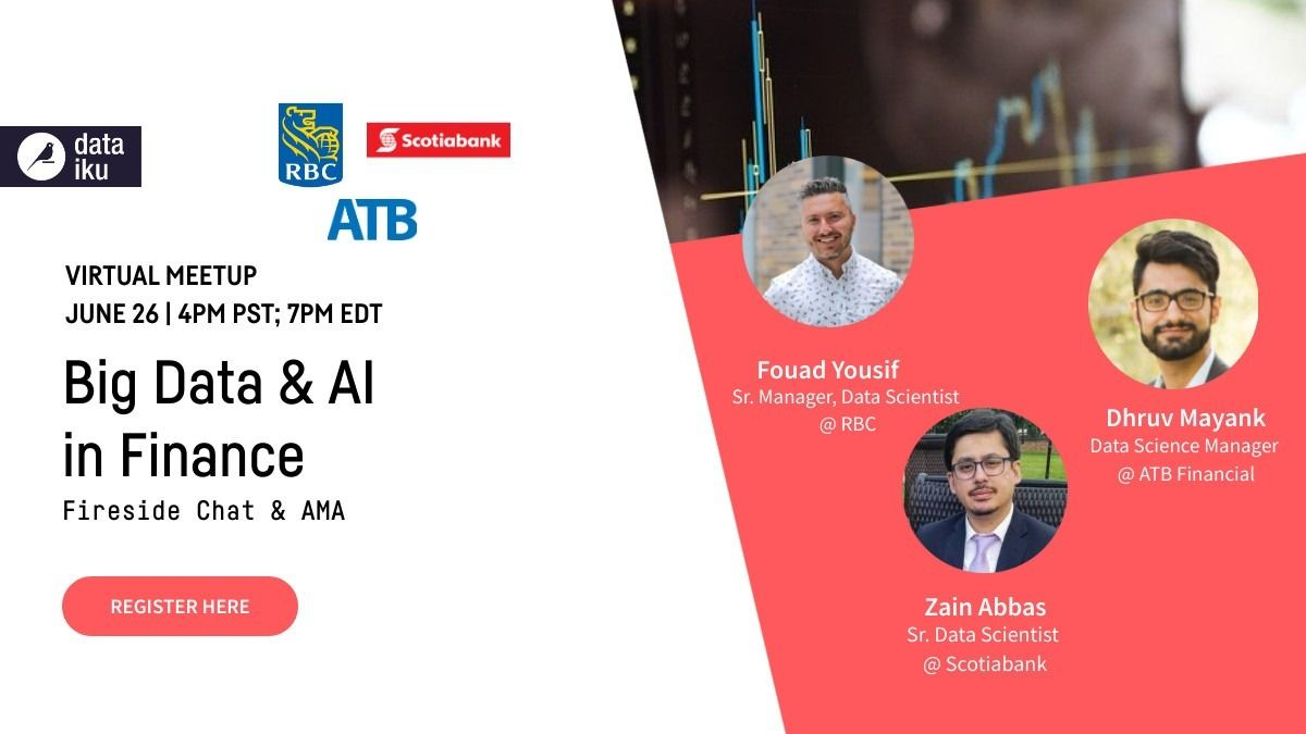 Big Data & AI in Finance ft. RBC, ATB Financial, & Scotiabank