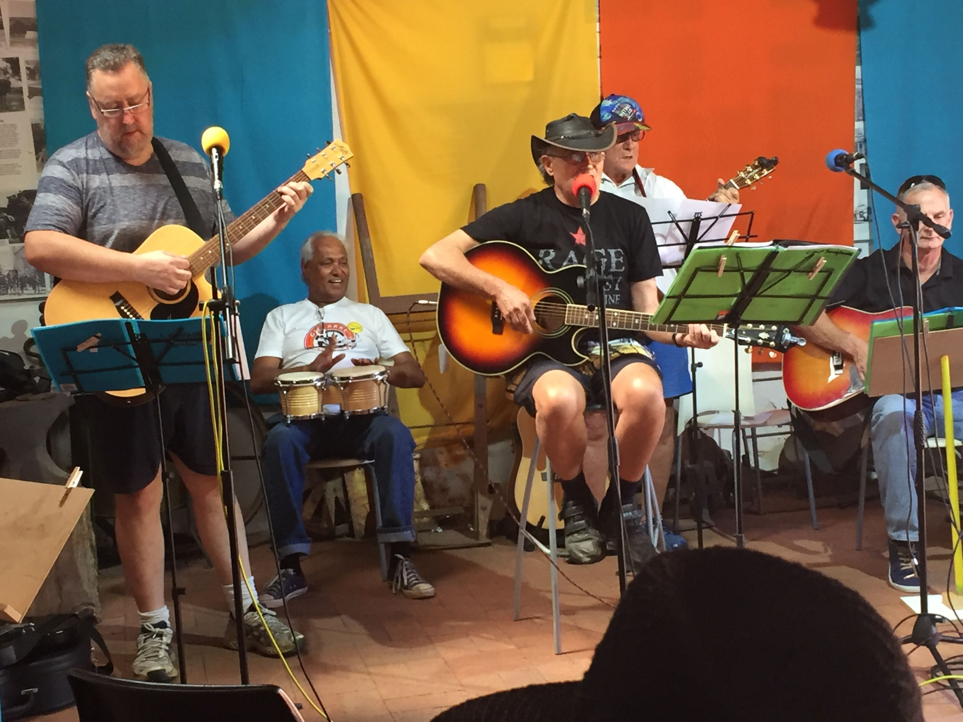 Old Reynella unplugged jammers