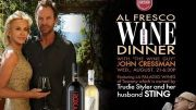 Photo for Drinking Wine with Sting - Almost August 21 2019