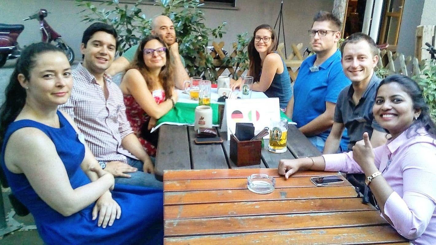 Let's TALK! Frankfurt - International Tuesday by iMU