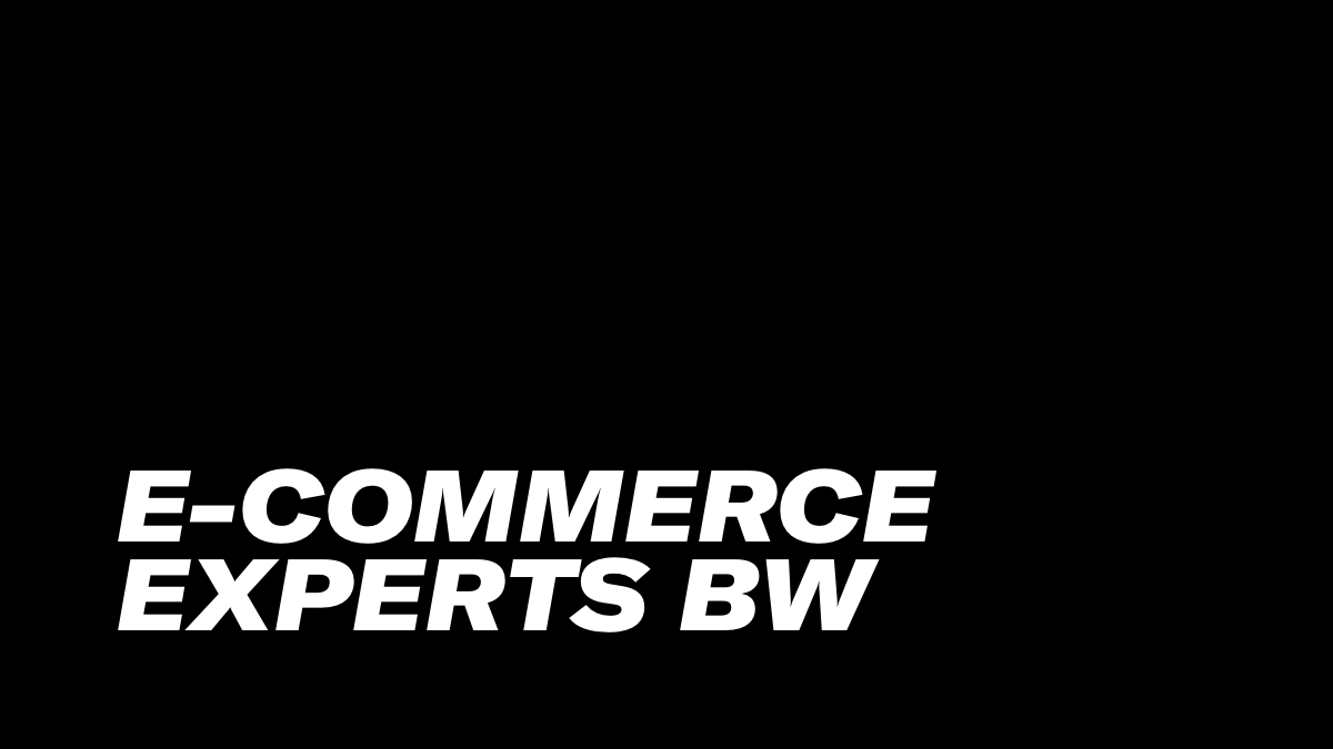 E-Commerce Experts BW