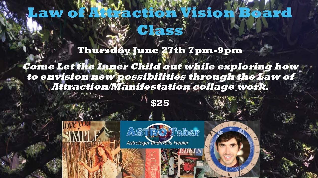 Law of Attraction Vision Board Class | Meetup