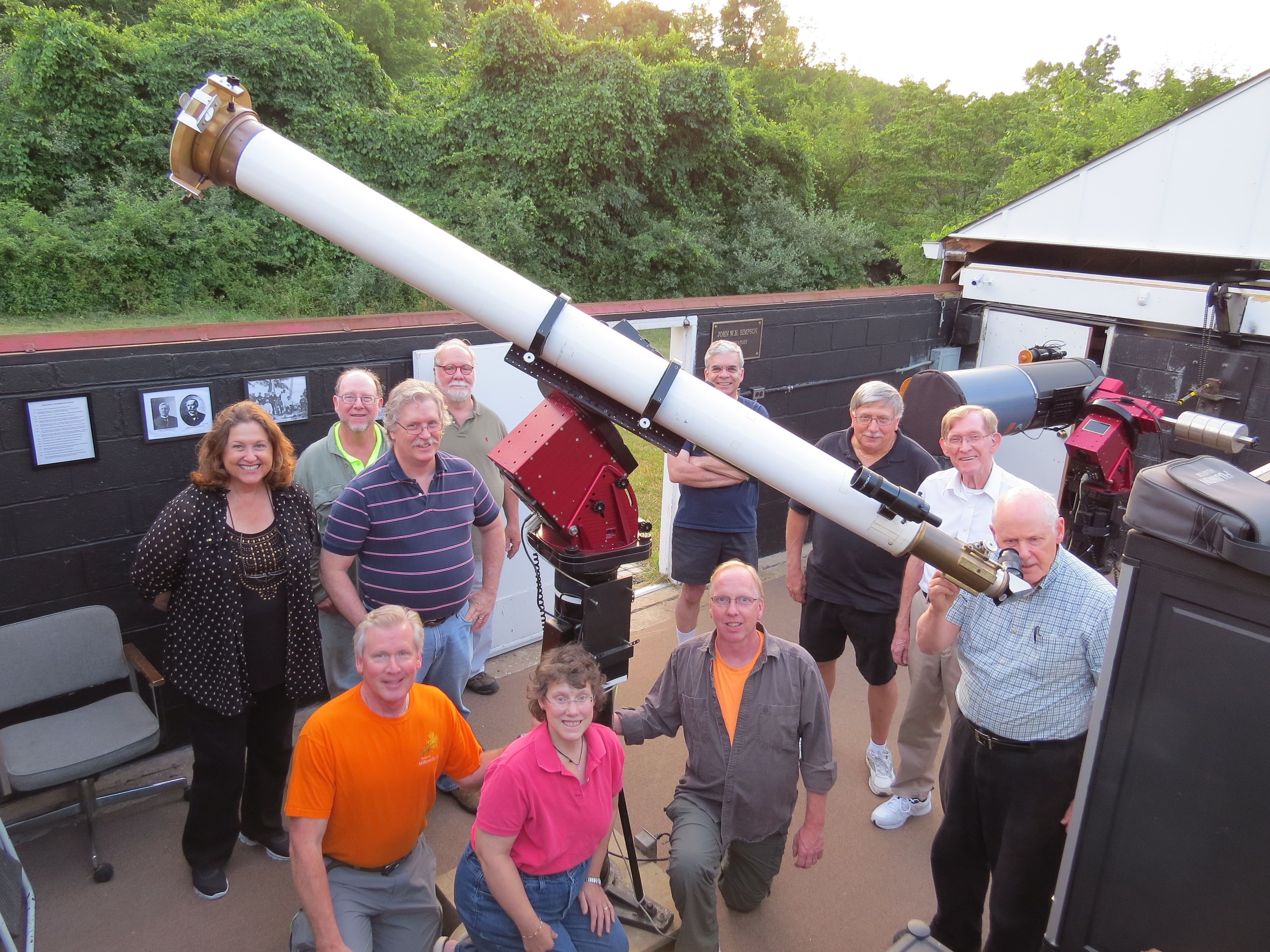 Observatory open to the public