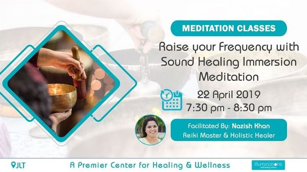 Raise Your Frequency With Sound Healing Immersion Meditation