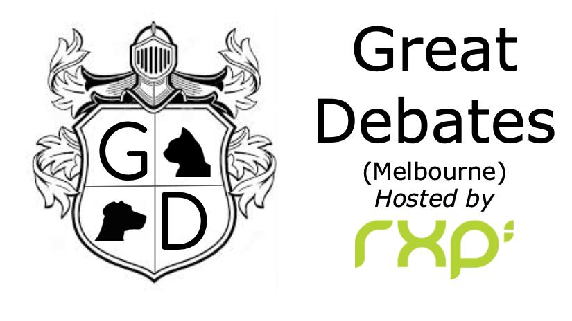 Great Debates Meetup (Melbourne)