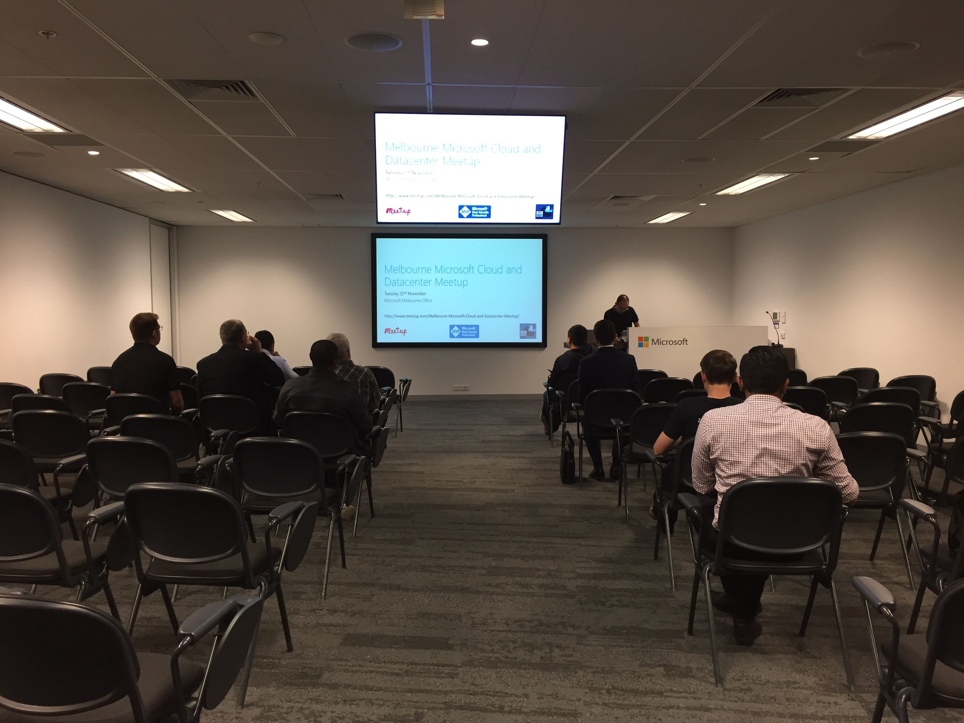 Melbourne Microsoft Cloud and Datacenter Meetup