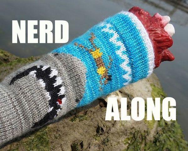 Nerd Along Watch Movies W Knitters Geeks Awesome Peeps San