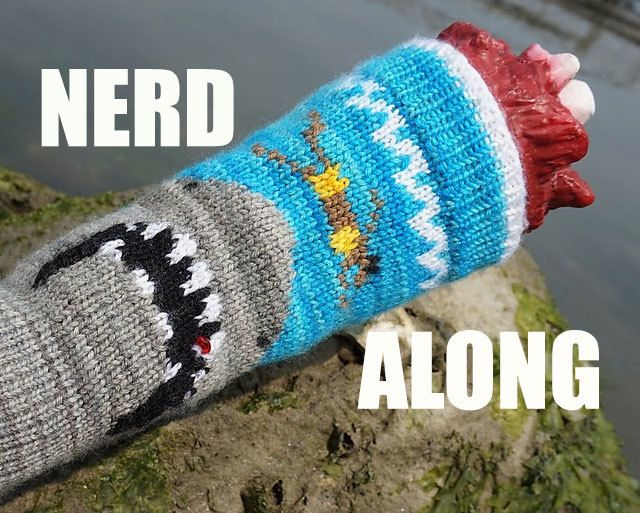 Nerd Along: Watch Movies w/ Knitters, Geeks, & Awesome Peeps