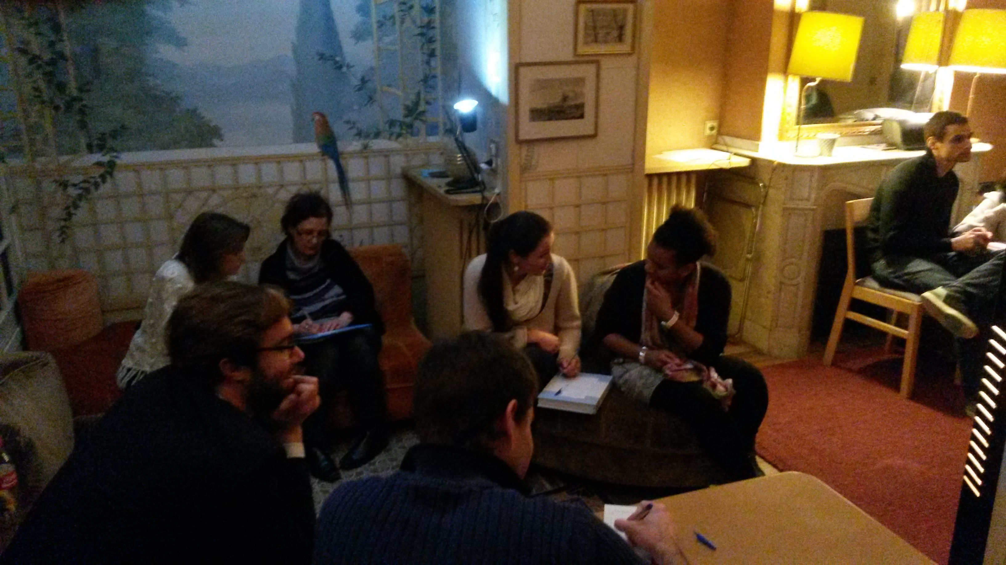 English Conversation at Jardin Culturel