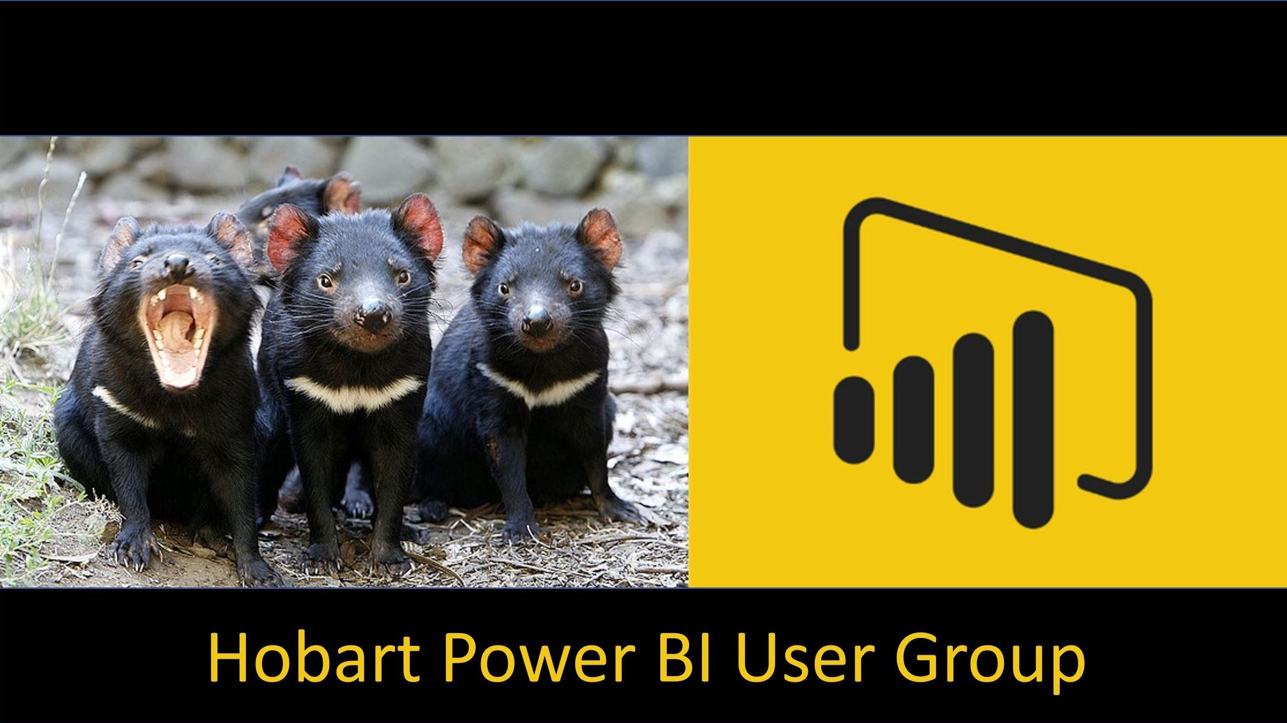 Hobart Power BI User Group