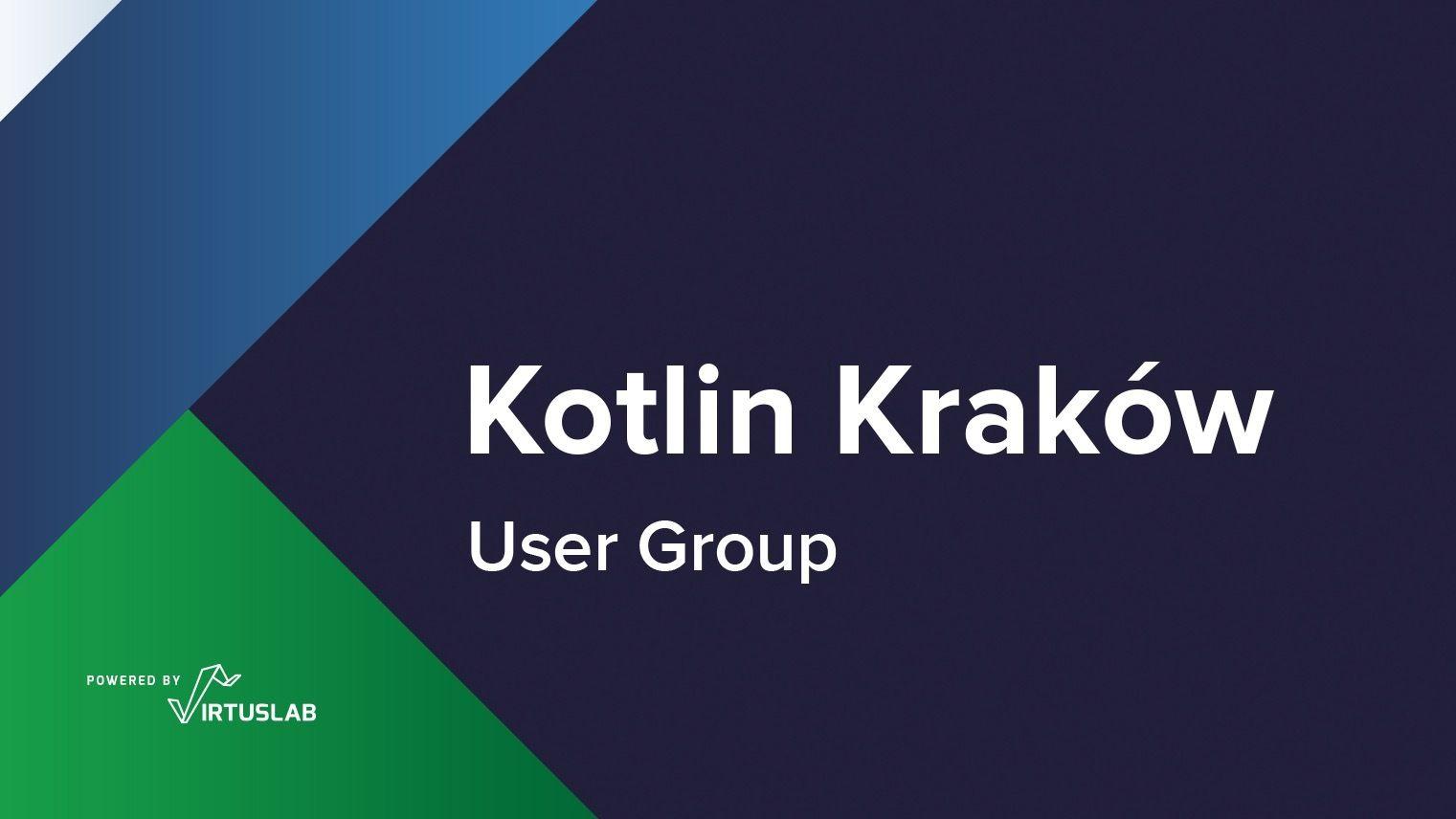 Kraków Kotlin User Group