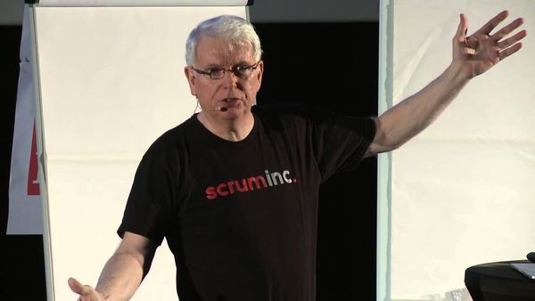 Book launch with Jeff Sutherland, co-creator of Scrum