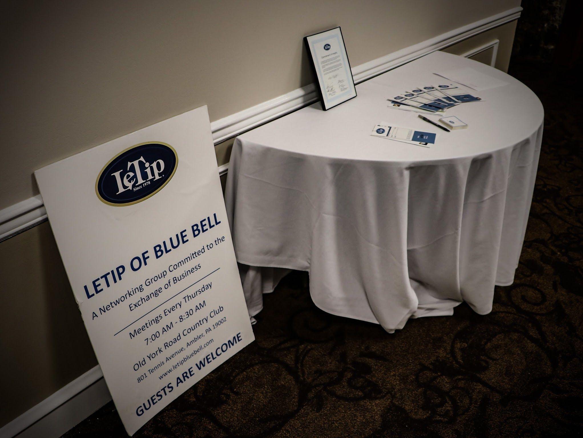 LeTip Blue Bell - Business Networking Meetup