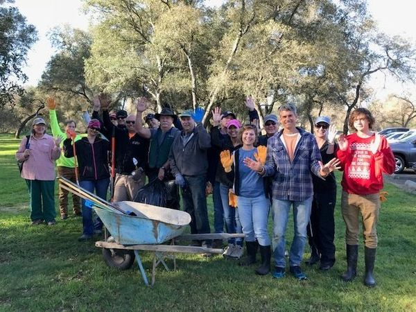 clean up the river trails of sacramento bar fair oaks with hands up for hooters meetup. Black Bedroom Furniture Sets. Home Design Ideas