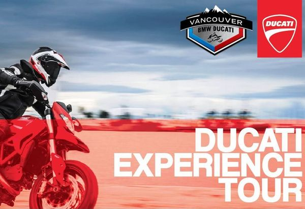 ducati experience tour at vancouver bmw-ducati - vroom