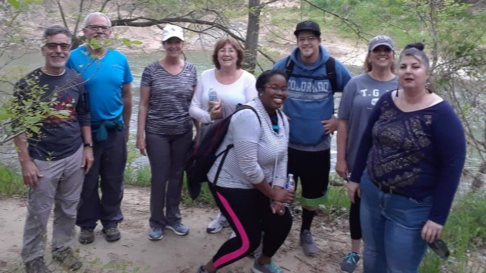 Wednesday - Hiking the trails: 3 - 4 miles * 6:30pm Start Time *