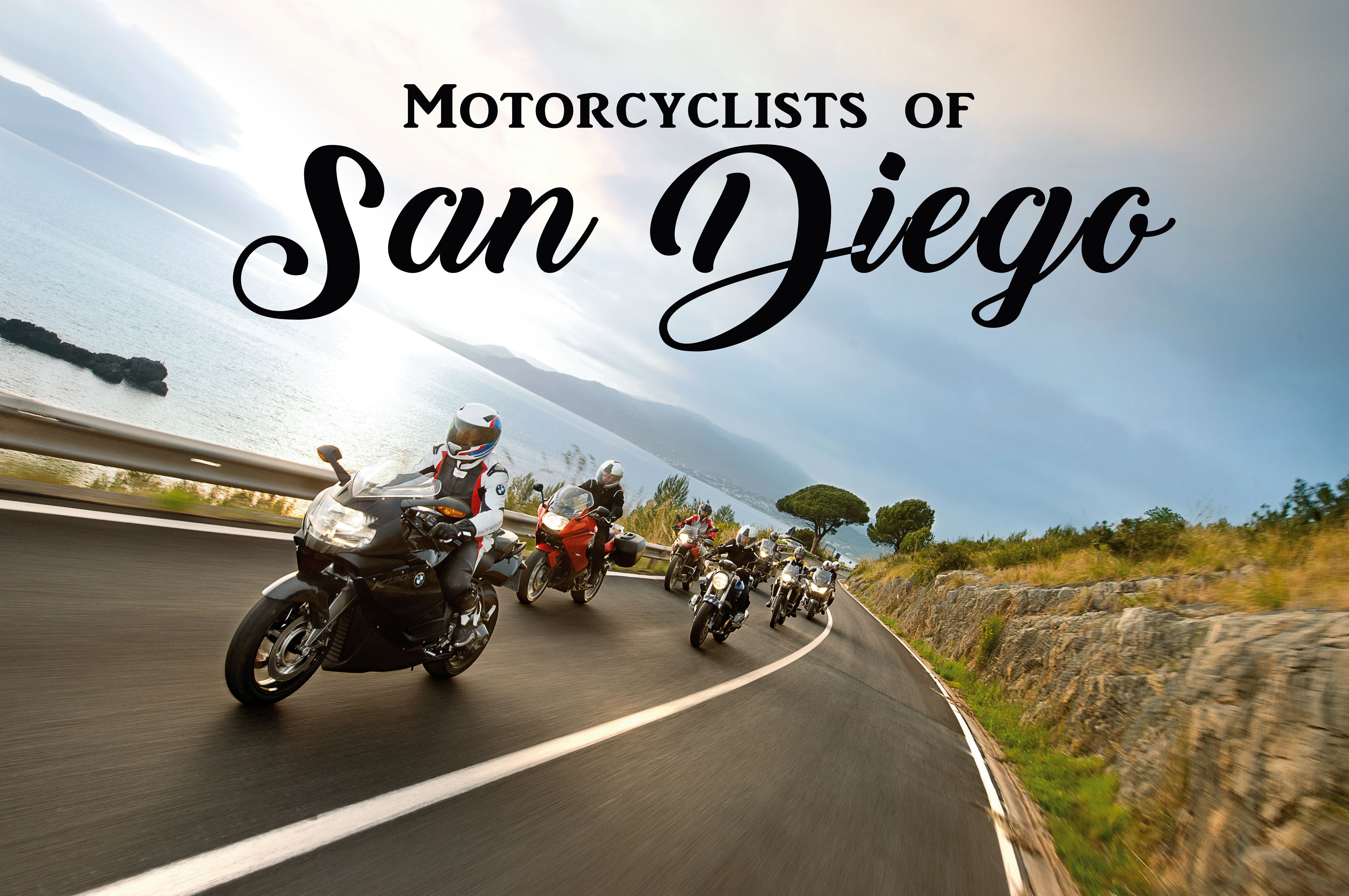 Motorcyclists of San Diego