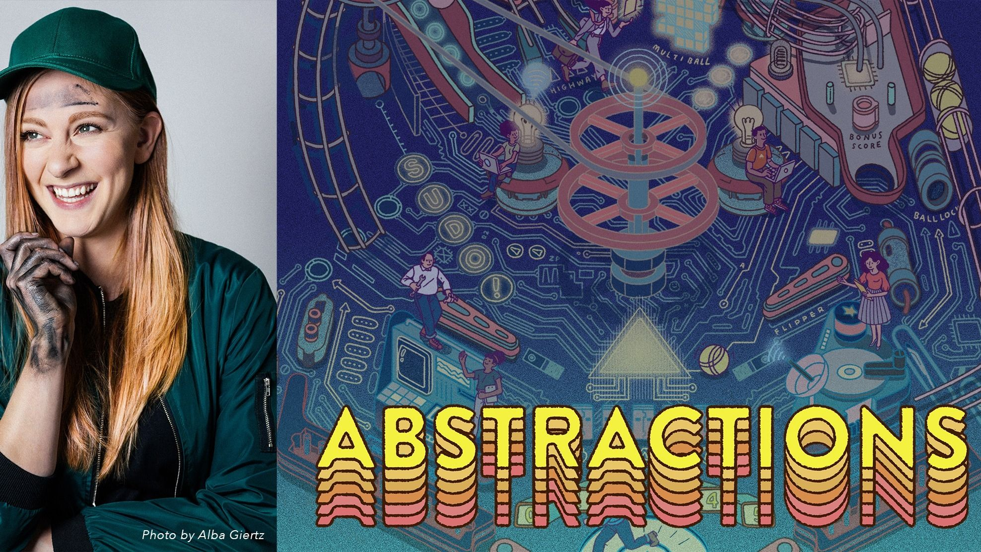 Simone Giertz at Abstractions