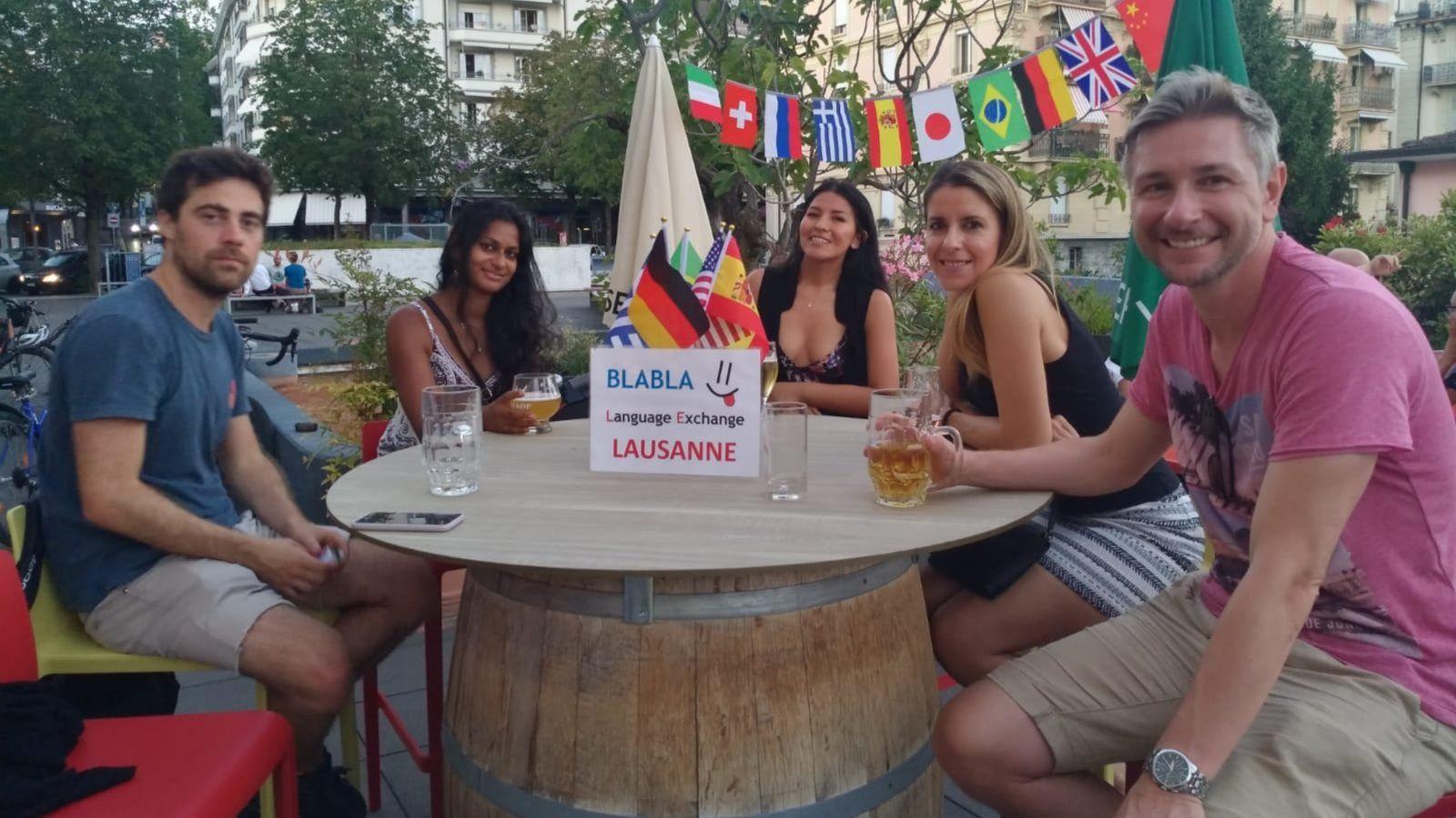 BlaBla Language Exchange - Lausanne