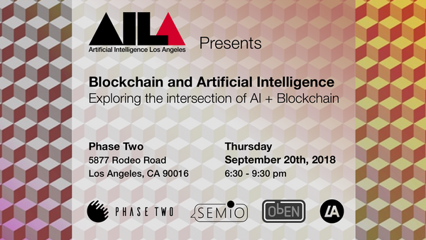 Blockchain Ai Discussion Meetup