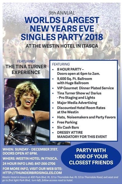9TH ANNUAL WORLDS LARGEST NEW YEARS EVE SINGLES PARTY 2018 ...
