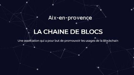 LA CHAINE DE BLOCS - Aix-en-provence