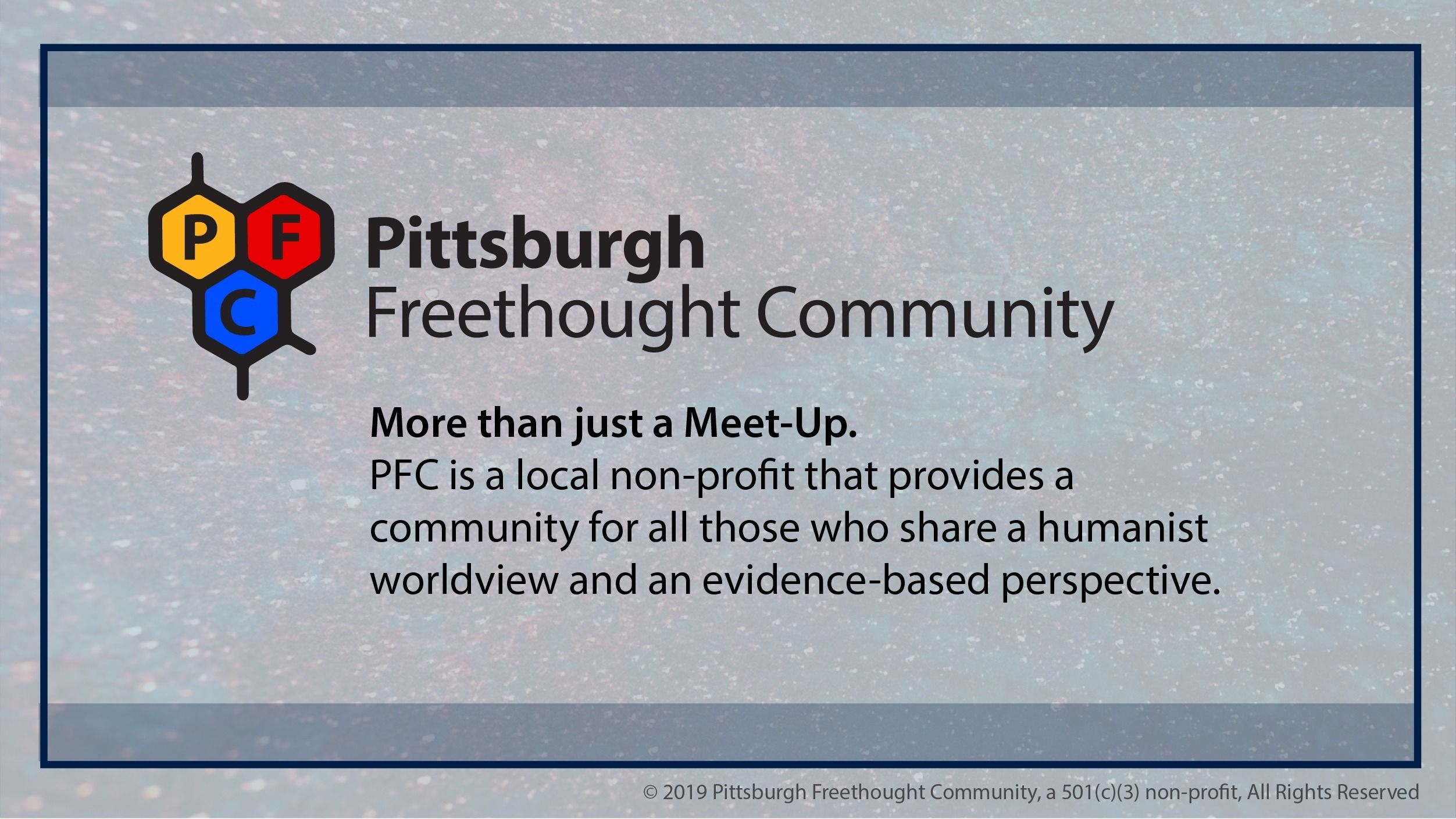 Pittsburgh Freethought Community  (PFC)